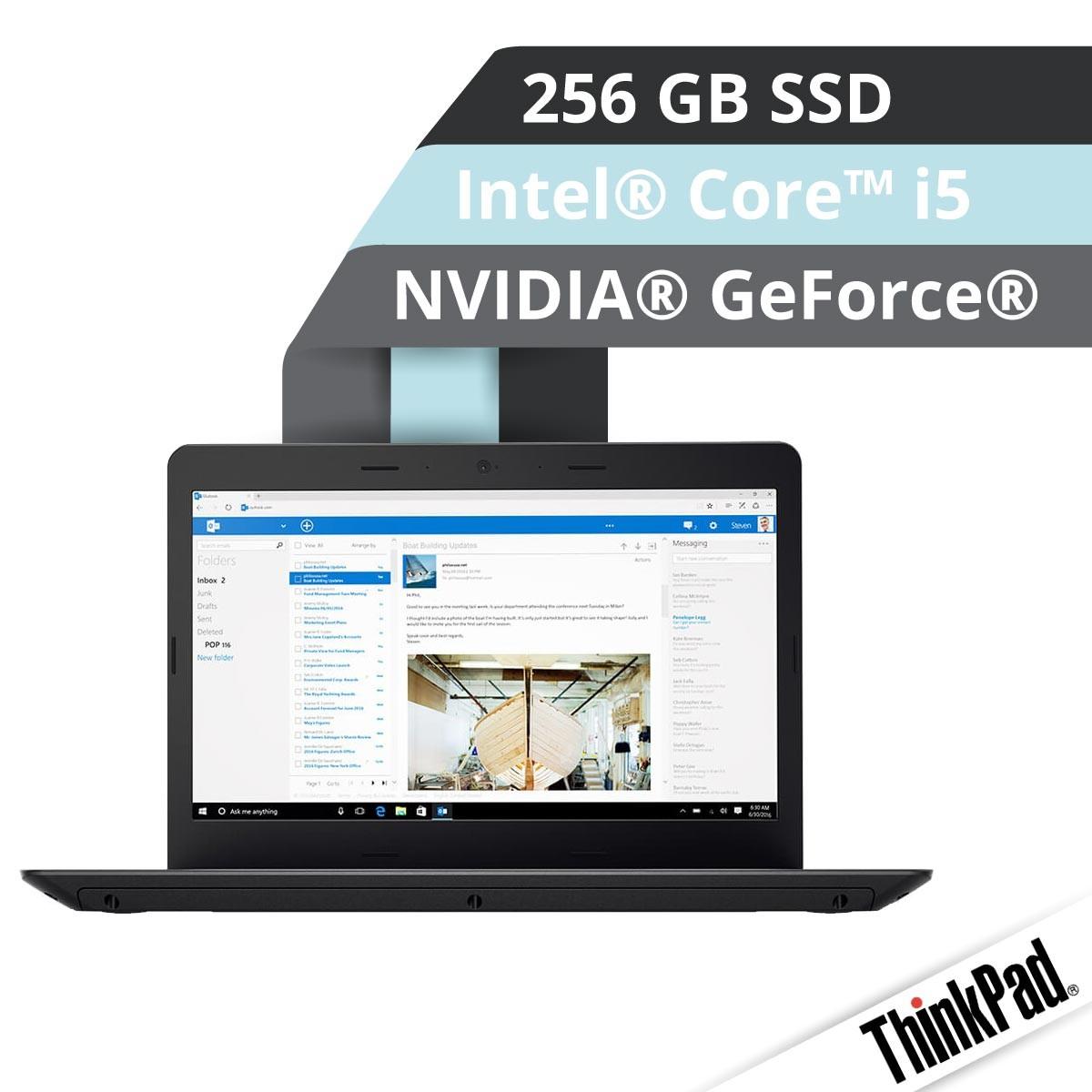 Lenovo™ ThinkPad® E470 Notebook Modell 20H2-S004 Demoartikel