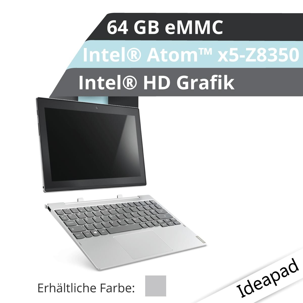 (EOL) Lenovo™ Miix 320 Tablet Modell 80XF-002R