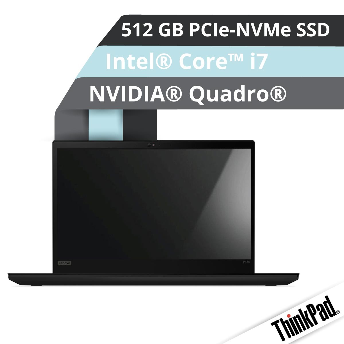 (EOL) Lenovo™ ThinkPad® P43s Workstation Modell 20RH-002F