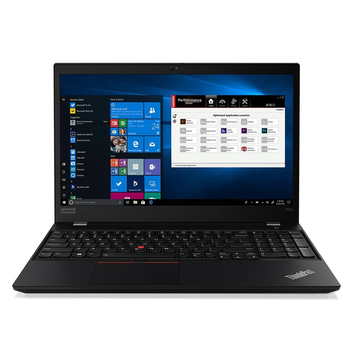 Lenovo™ ThinkPad® P53s Notebook-Konfigurator Modell 20N6-CTO1