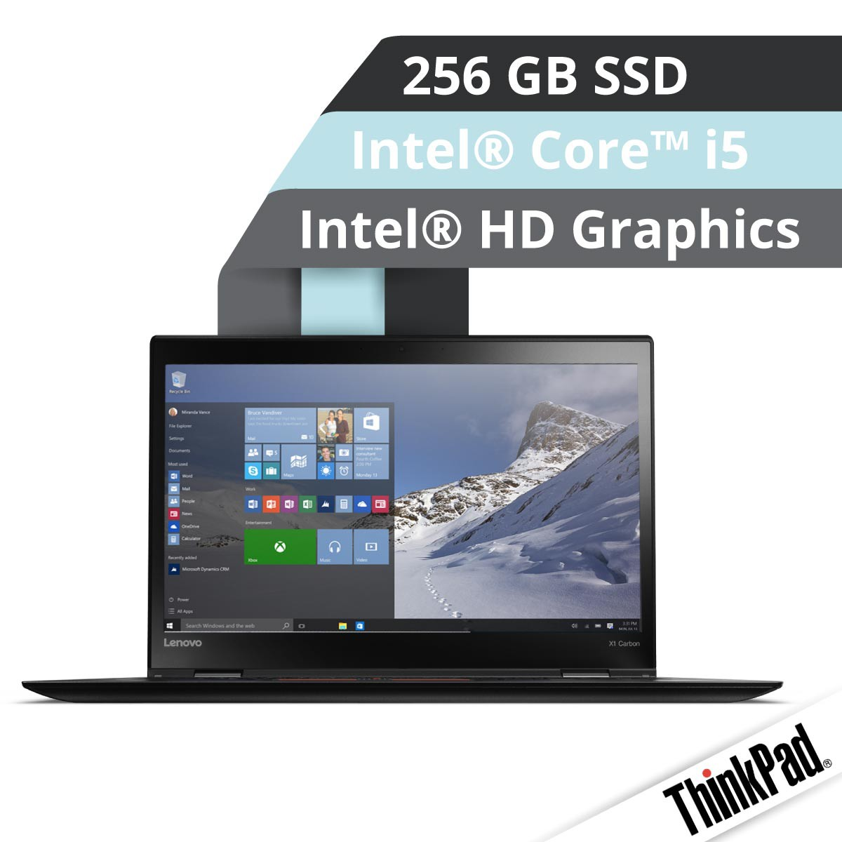 (EOL) Lenovo™ ThinkPad® X1 Carbon Ultrabook Modell 20FB-003V