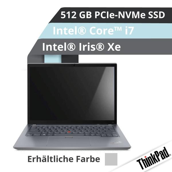 Lenovo™ ThinkPad® X13 Notebook (Gen.2) Modell 20WK-001P (Grau)