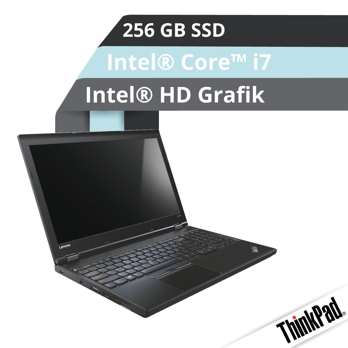 (EOL) Lenovo™ ThinkPad® L570 Notebook Modell 20J8-001M
