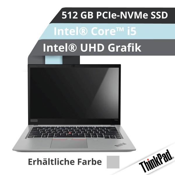 Lenovo™ ThinkPad® T490s Notebook Modell 20NX-003L (Silber)