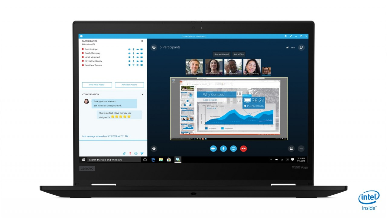 (EOL) Lenovo™ ThinkPad® X390 Yoga Notebook-Konfigurator Modell 20NNCTO1WW
