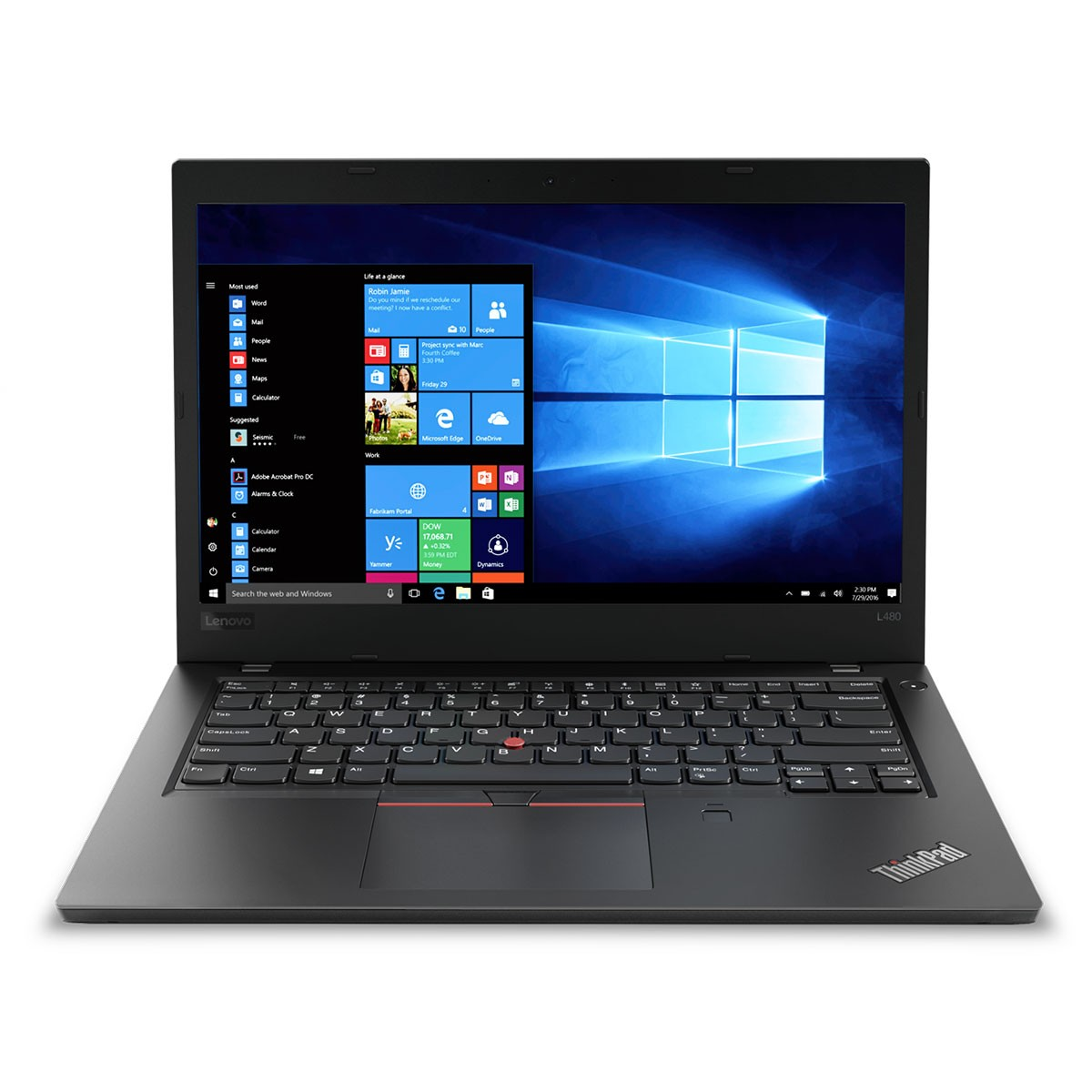 (EOL) Lenovo™ ThinkPad® L480 Notebook-Konfigurator Modell 20LS-CTO