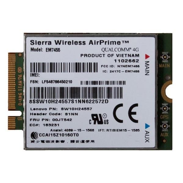 Lenovo™ ThinkPad® Sierra EM7455 4G LTE Mobile Broadband