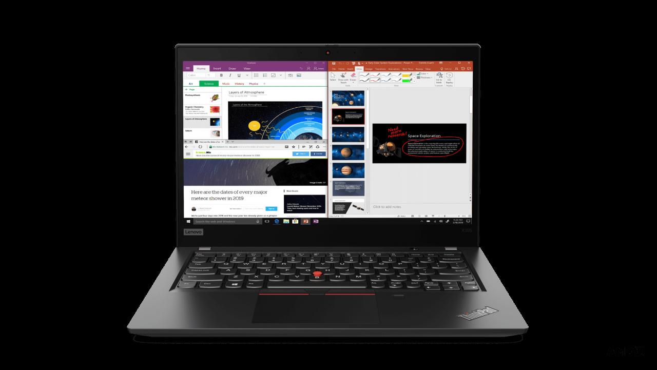 (EOL) Lenovo™ ThinkPad® X395 Notebook-Konfigurator Modell 20NL-CTO