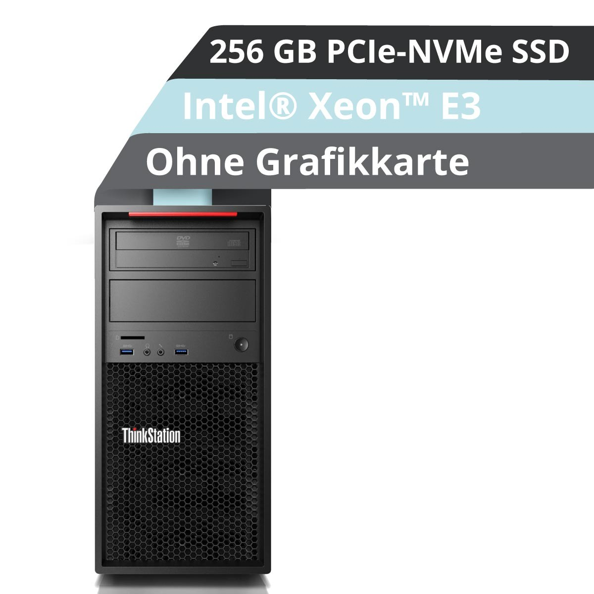 (EOL) Lenovo™ ThinkStation® P320 Tower Workstation Modell 30BH-000N