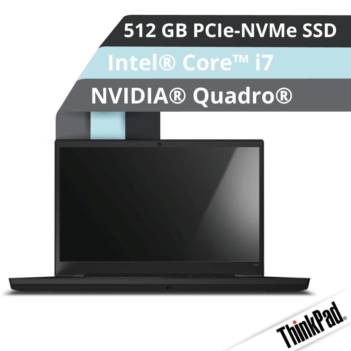 (EOL) Lenovo™ ThinkPad® P15v Notebook Modell 20TQ-0045