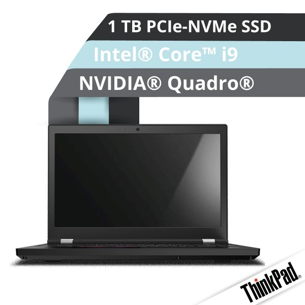 Lenovo™ ThinkPad® P15 Notebook Modell 20ST-001E