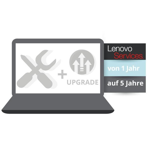 Lenovo Garantieerweiterung auf 5 Jahre Bring-In + Unfallschutz