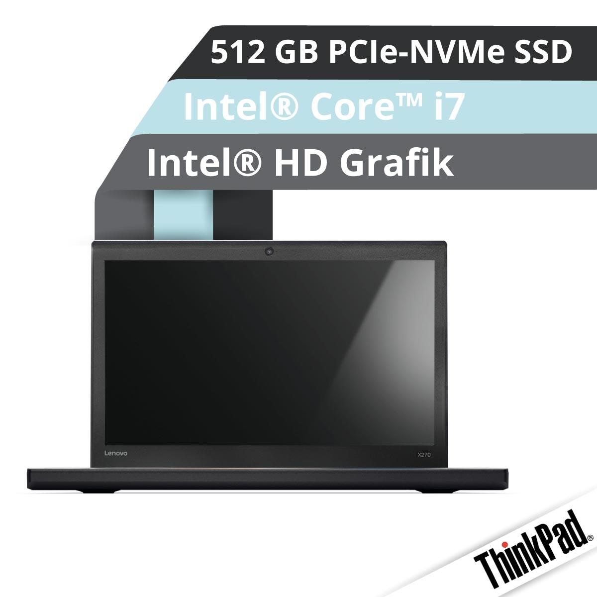 (EOL) Lenovo™ ThinkPad® X270 Notebook Modell 20HN-002U