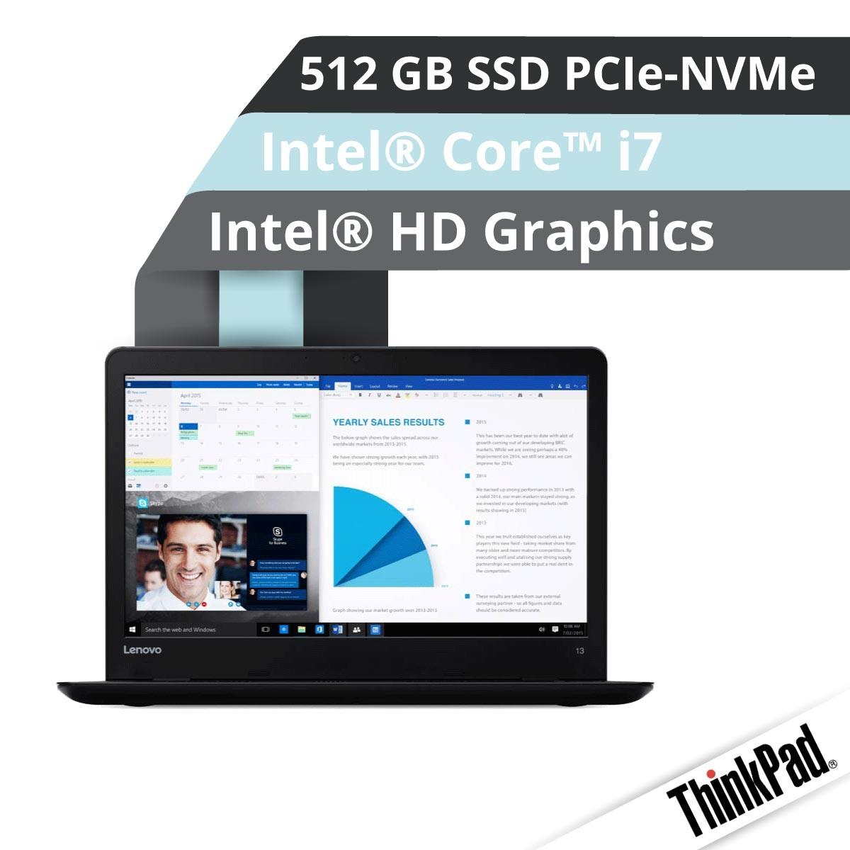 Lenovo™ ThinkPad® 13 Notebook Modell 20J2-S00G Demoartikel