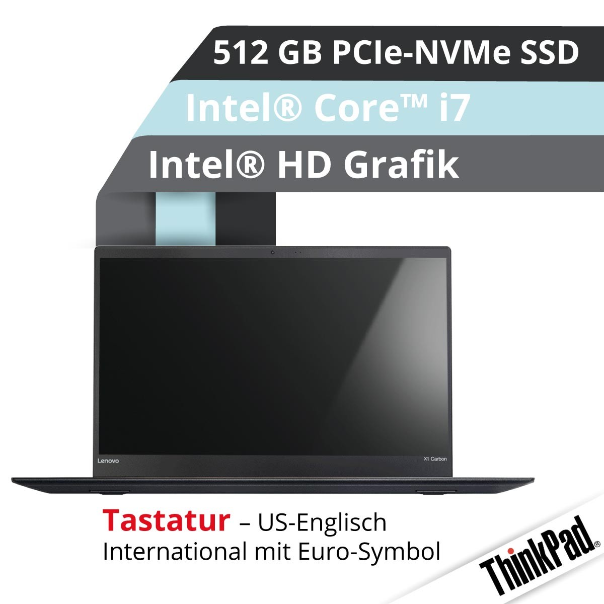 (EOL) Lenovo™ ThinkPad® X1 Carbon Ultrabook Modell 20HQ-S42C (US)