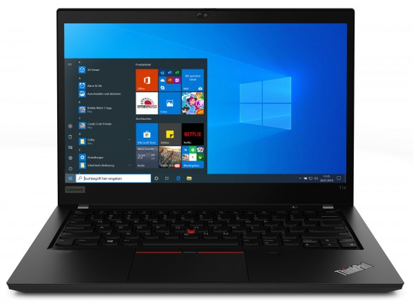 Lenovo™ ThinkPad® T14 Notebook Modell 20UE-S00H