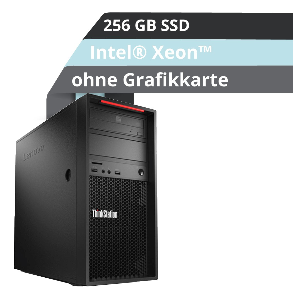 (EOL) Lenovo™ ThinkStation® P520c Tower Workstation Modell 30BX-000M