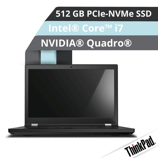 Lenovo™ ThinkPad® P15 Notebook Modell 20ST-000D