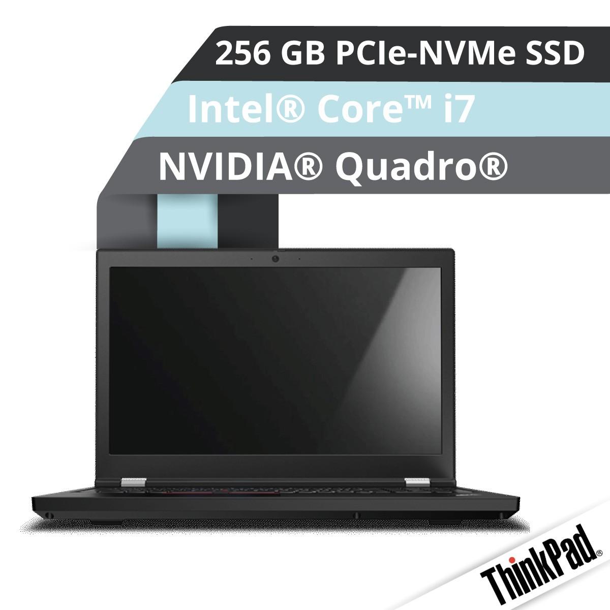(EOL) Lenovo™ ThinkPad® P15 Notebook Modell 20ST-0017