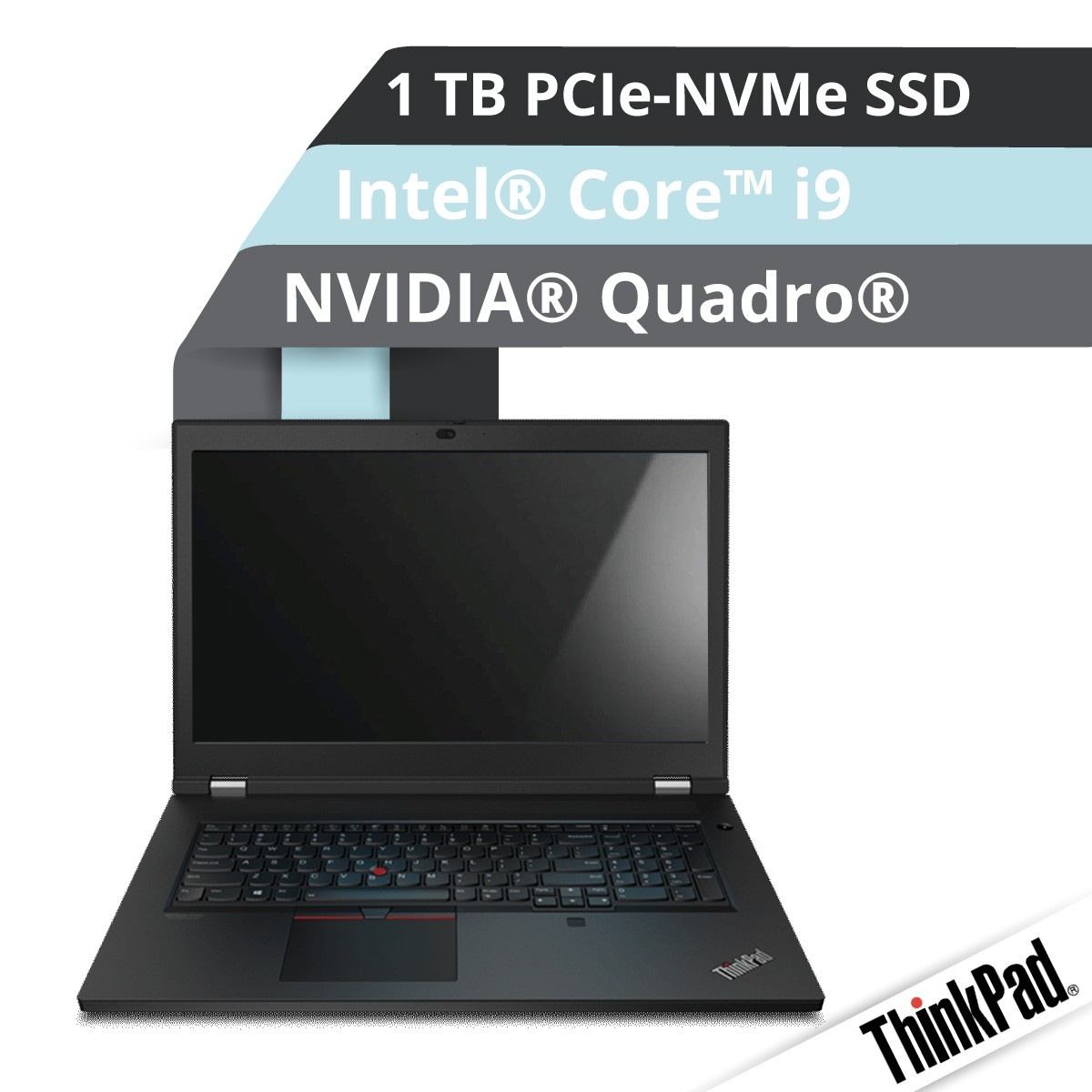 (EOL) Lenovo™ ThinkPad® P17 Notebook Modell 20SN-001E