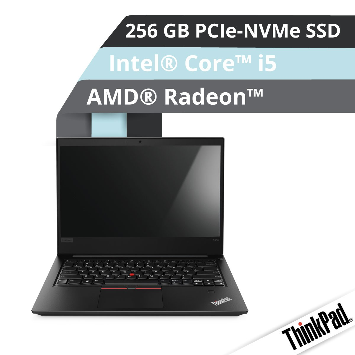 (EOL) Lenovo™ ThinkPad® E480 Notebook Modell 20KQ-S000