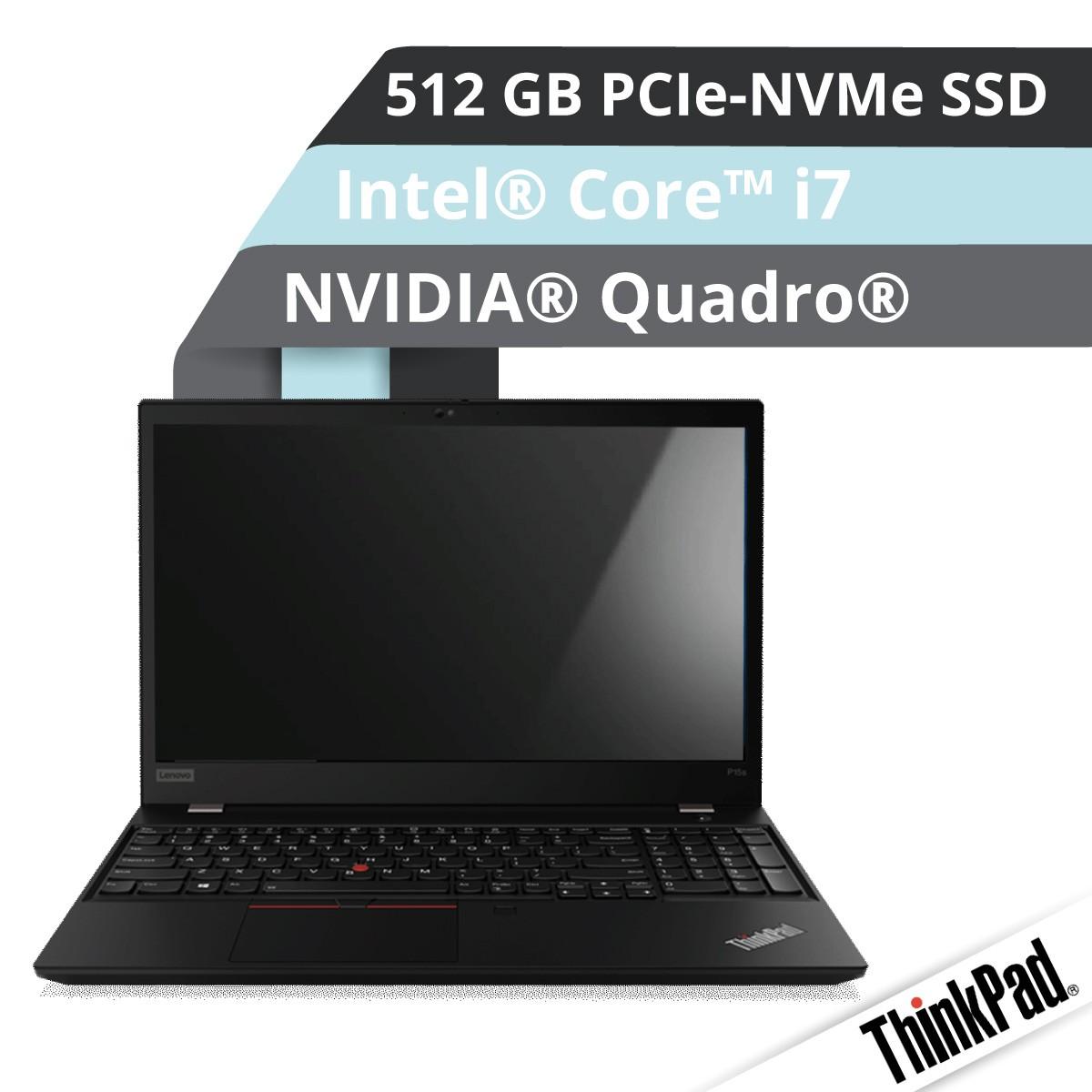 (EOL) Lenovo™ ThinkPad® P15s Notebook Modell 20T4-003A