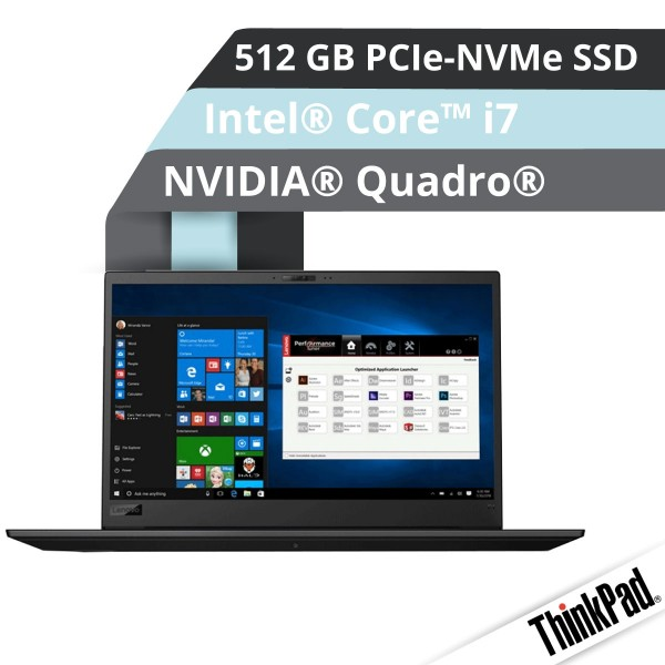 Lenovo™ ThinkPad® P1 Workstation Modell 20MD-000N