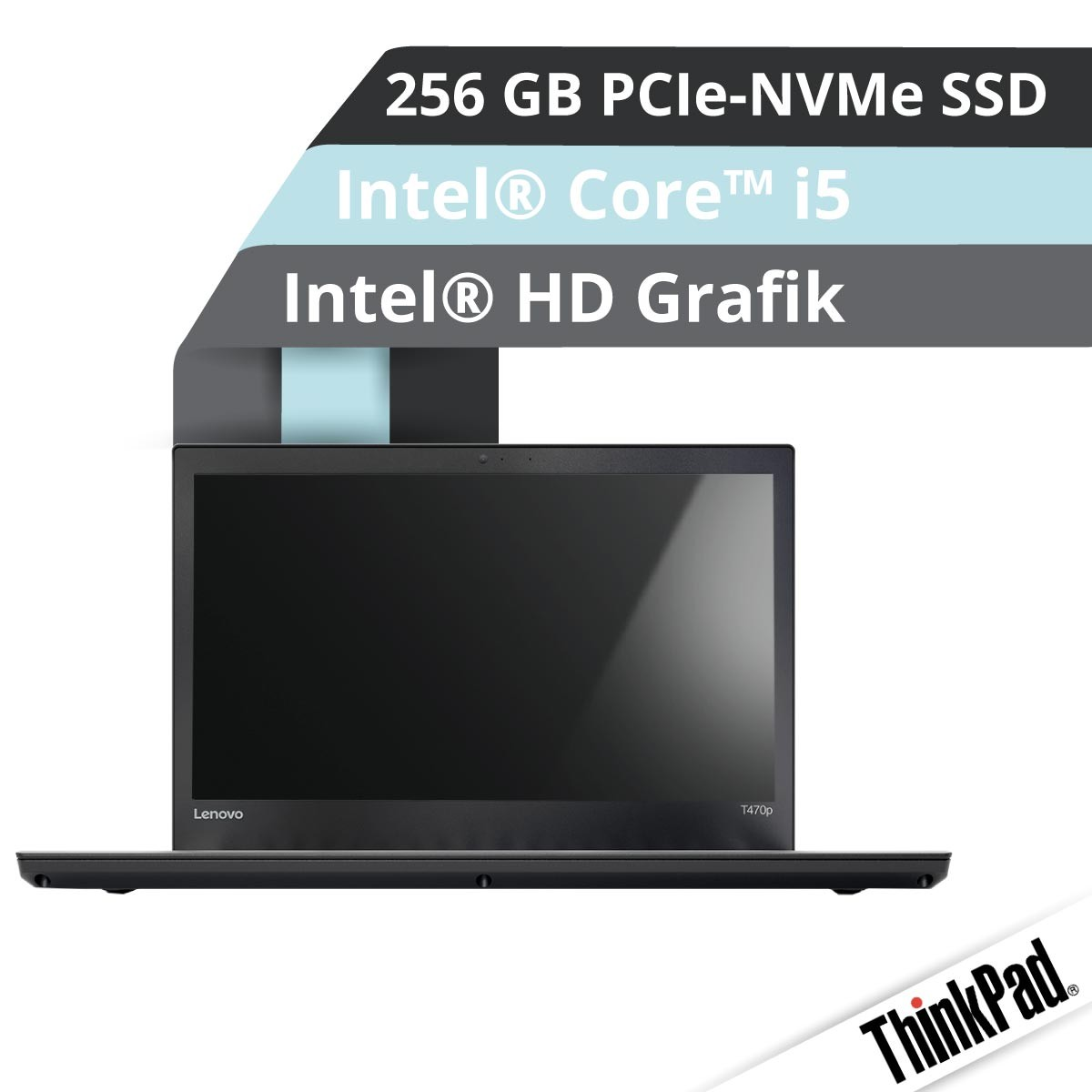 (EOL) Lenovo™ ThinkPad® T470p Notebook Modell 20J6-001A