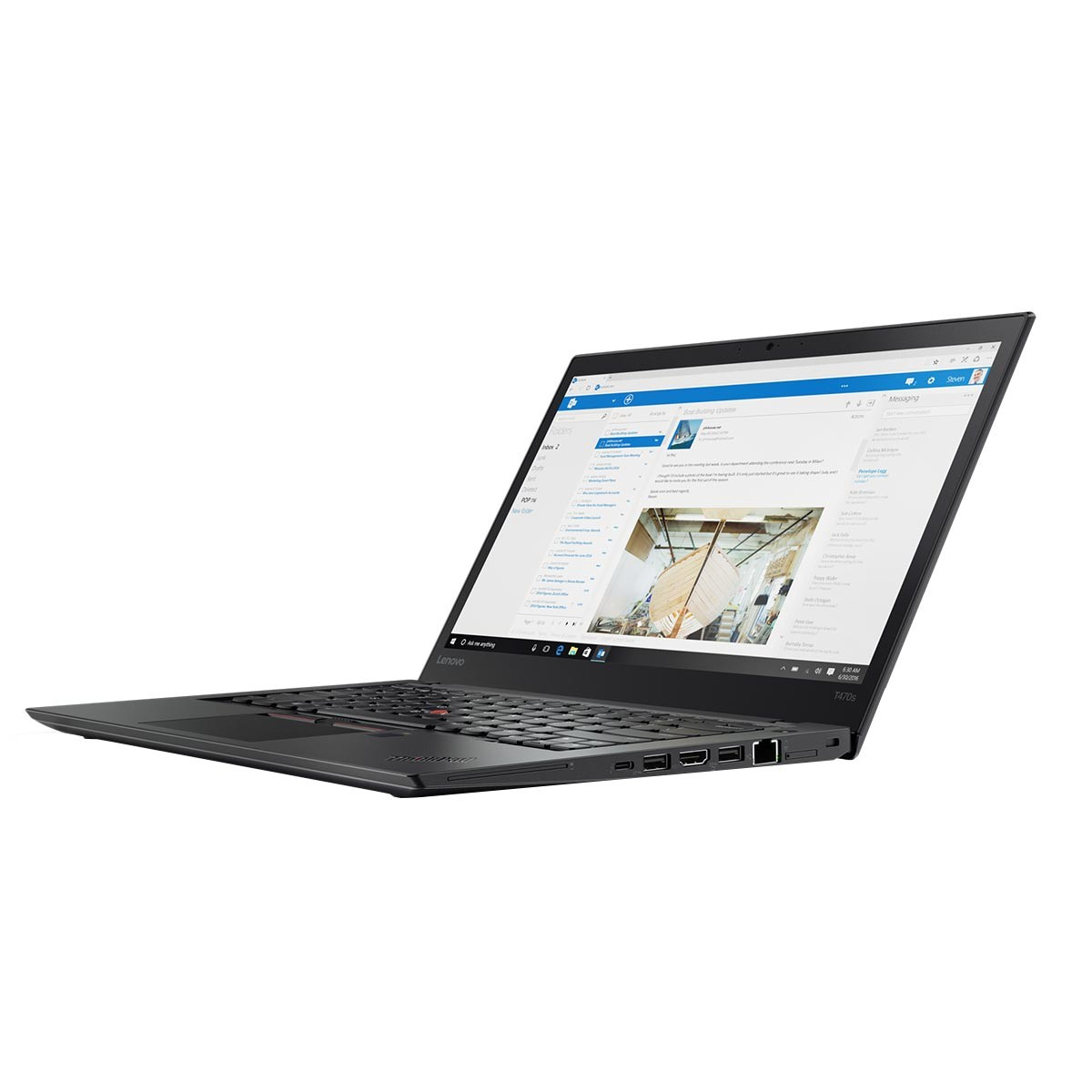 (EOL)Lenovo™ ThinkPad® T480s Notebook-Konfigurator Modell 20L7-CTO1WW