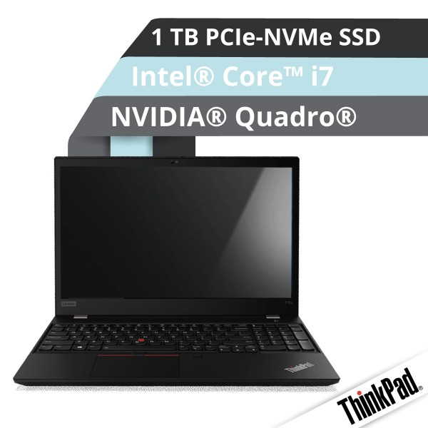 Lenovo™ ThinkPad® P15s Notebook Modell 20T4-000C