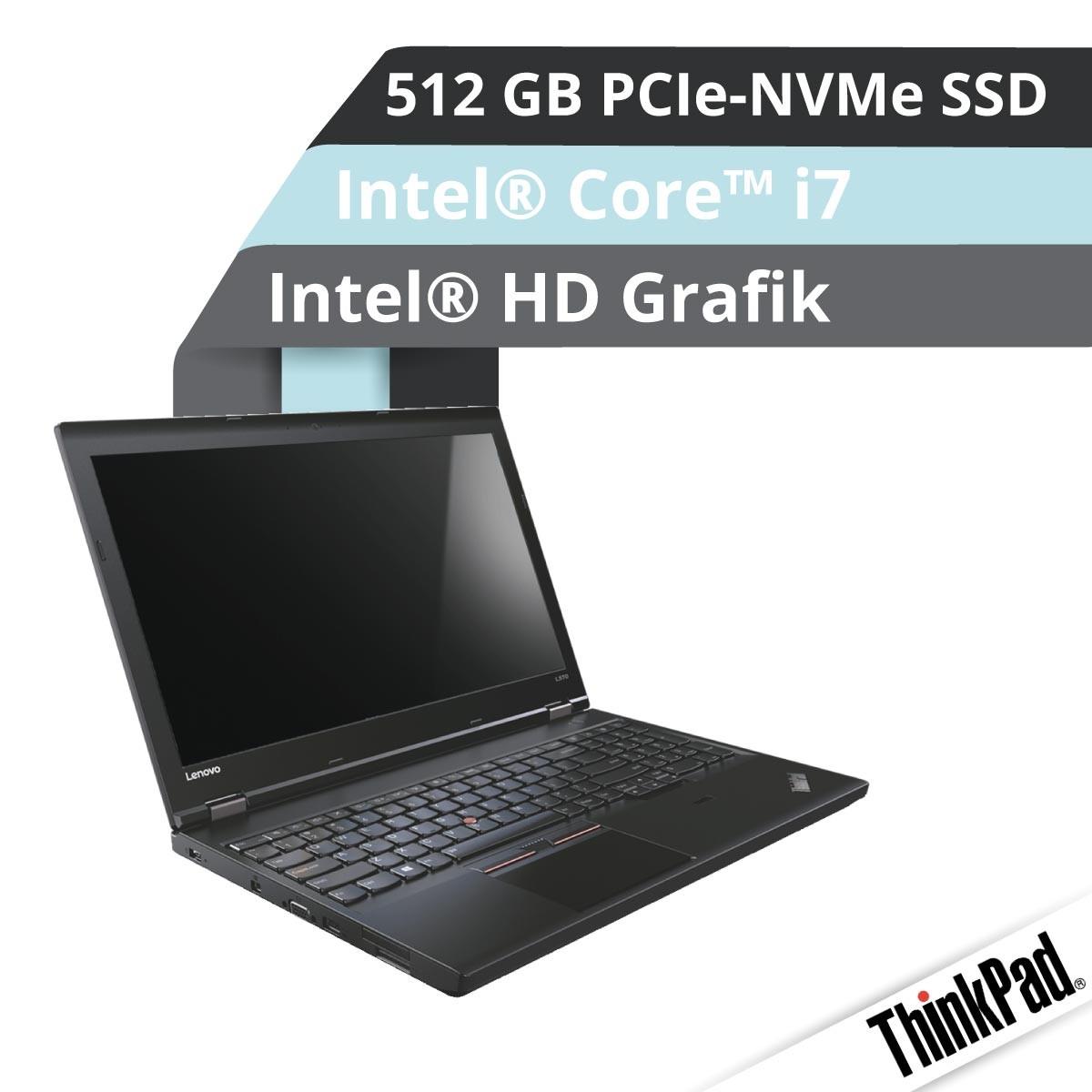 (EOL) Lenovo™ ThinkPad® T570 Notebook Modell 20H9-0017