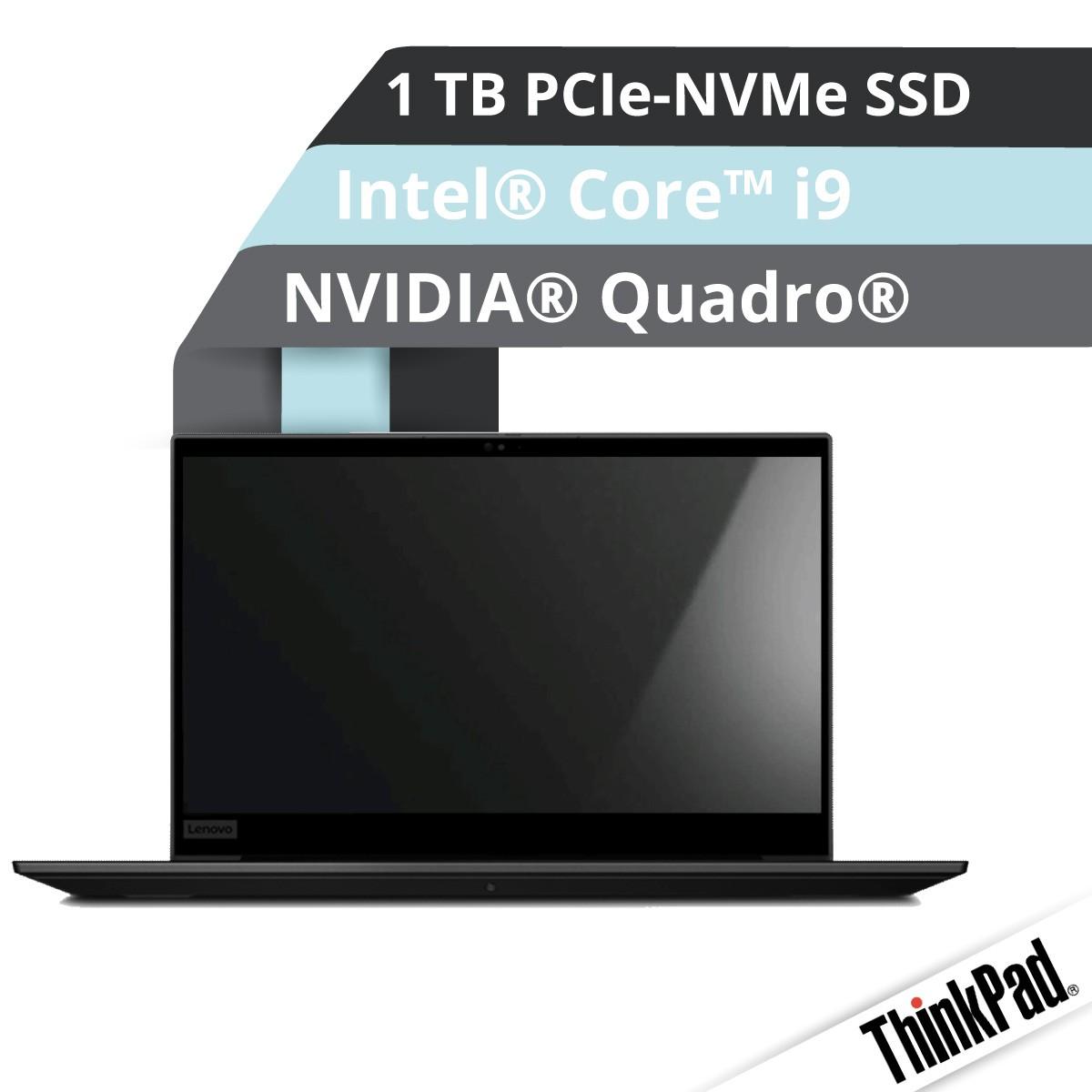 (EOL) Lenovo™ ThinkPad® P1 (Gen. 2) Workstation Modell 20QT-008B