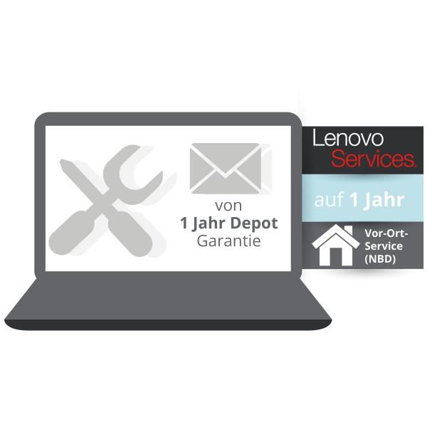 Lenovo Garantieupgrade auf 1 Jahr Vor Ort Service