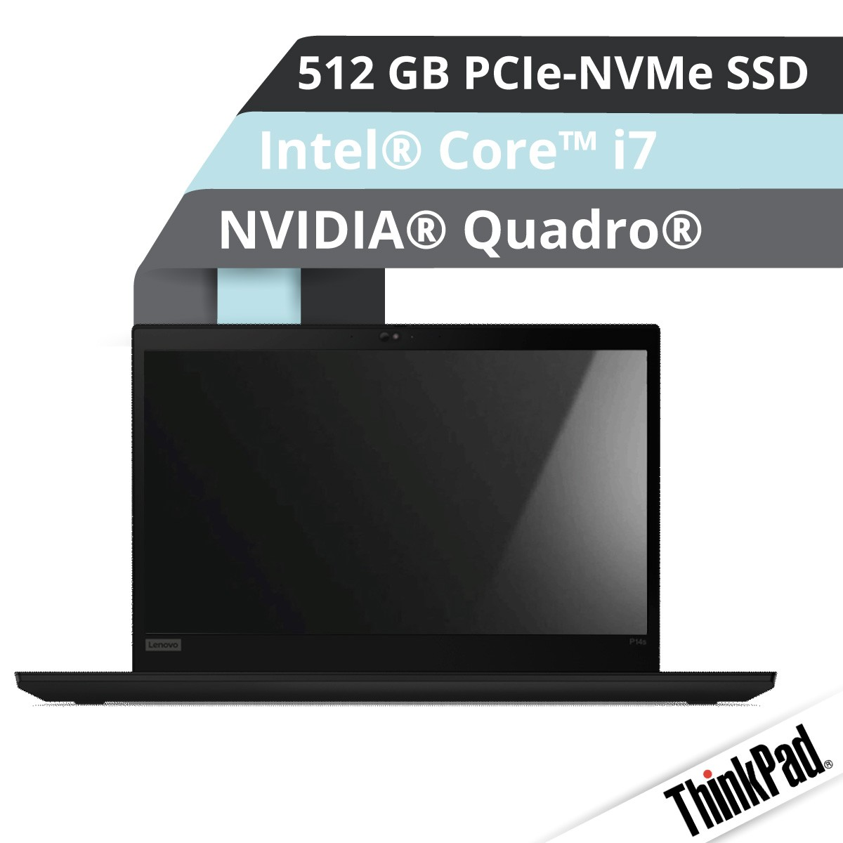 (EOL) Lenovo™ ThinkPad® P14s (Gen.2) Notebook Modell 20VX-000W