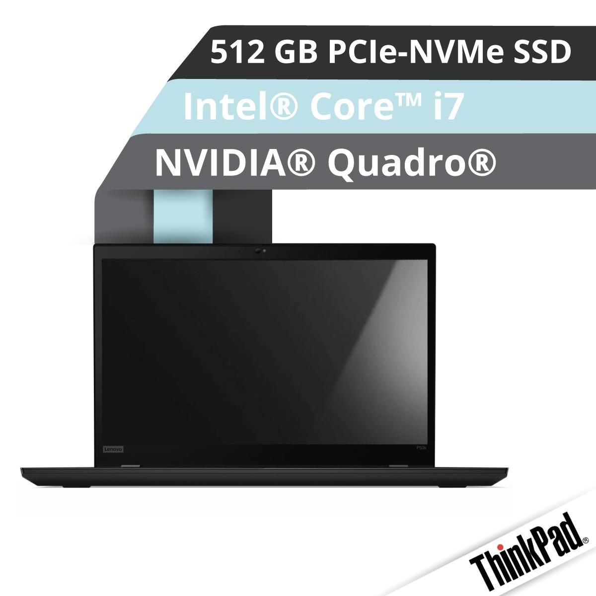 (EOL) Lenovo™ ThinkPad® P53 Workstation Modell 20QN-000F