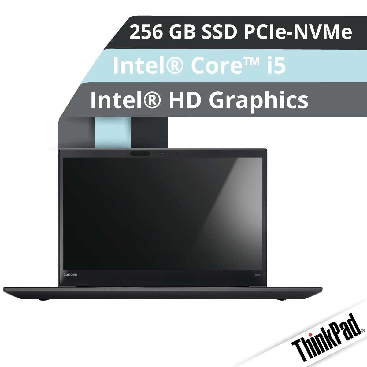 (EOL) Lenovo™ ThinkPad® T570 Notebook Modell 20JW-000B