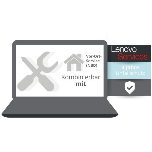 Lenovo Garantieerweiterung: 3 Jahre Unfallschutz