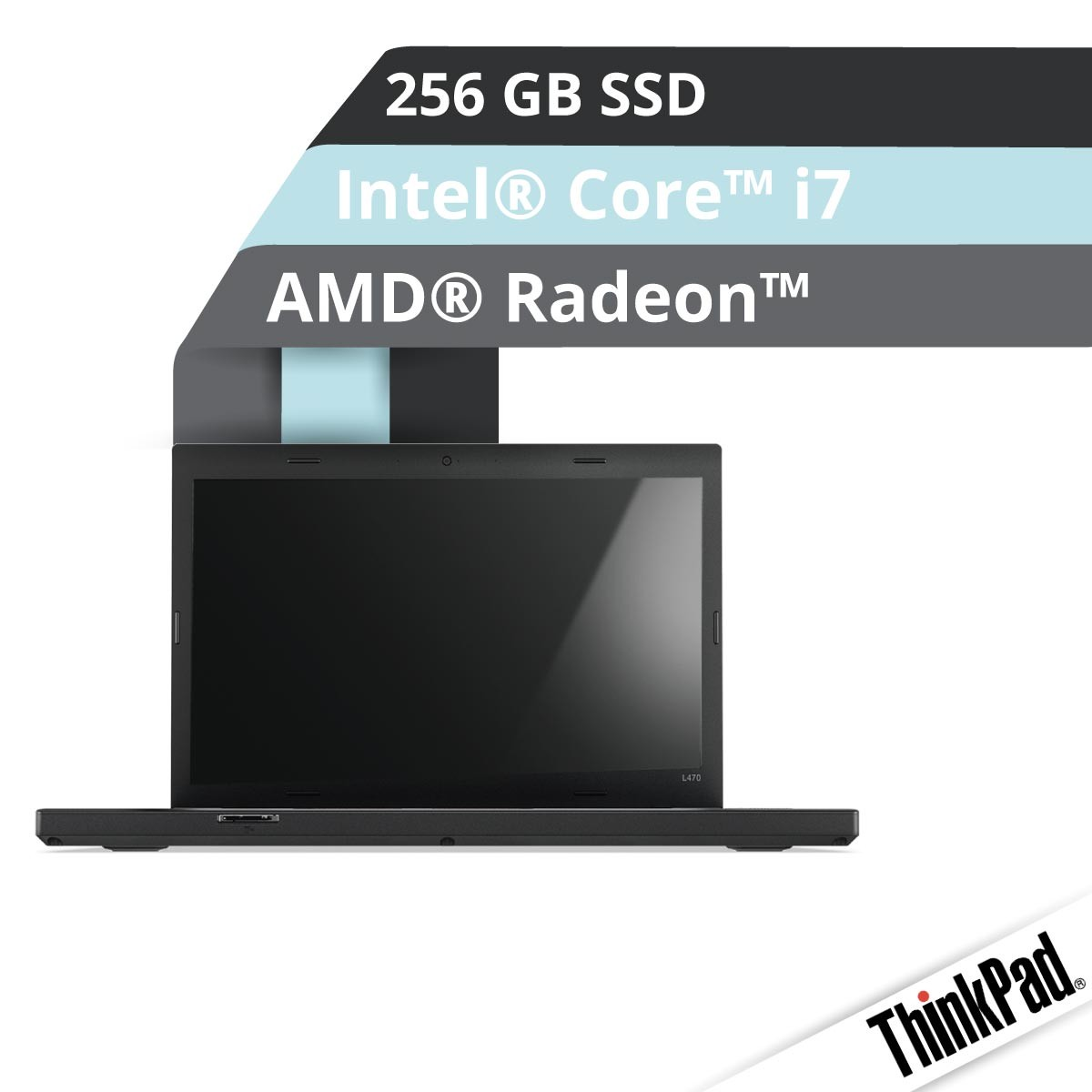 (EOL) Lenovo™ ThinkPad® L470 Notebook Modell 20J4-003W