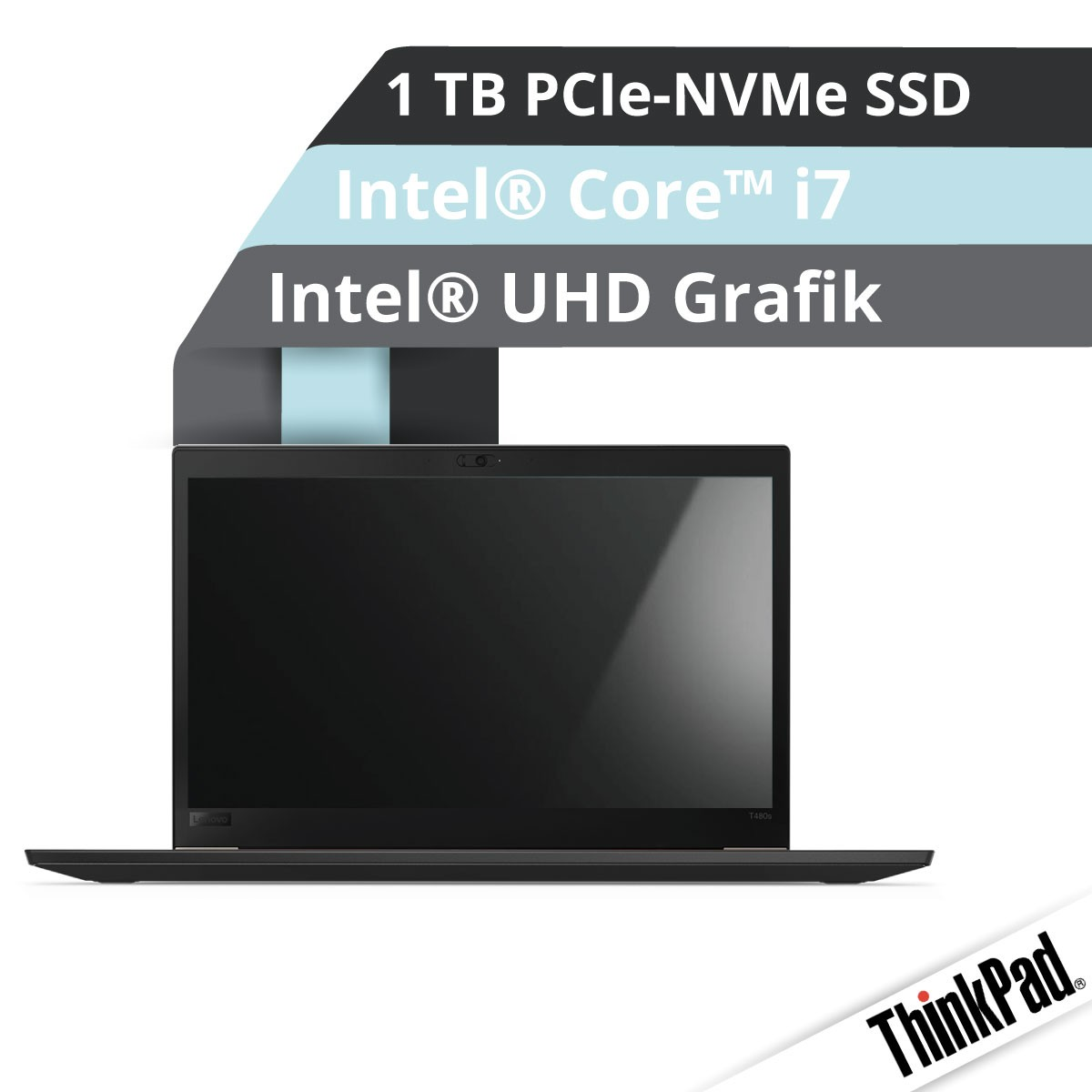 (EOL) Lenovo™ ThinkPad® T480s Notebook Modell 20L7-0053