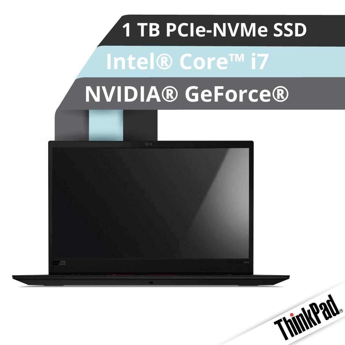 (EOL) Lenovo™ ThinkPad® X1 Extreme (2. Gen) Ultrabook Modell 20QV-00CM