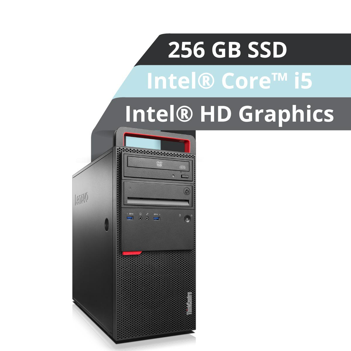 (EOL) Lenovo™ ThinkCentre® M800 Tower PC Modell 10FW-003H