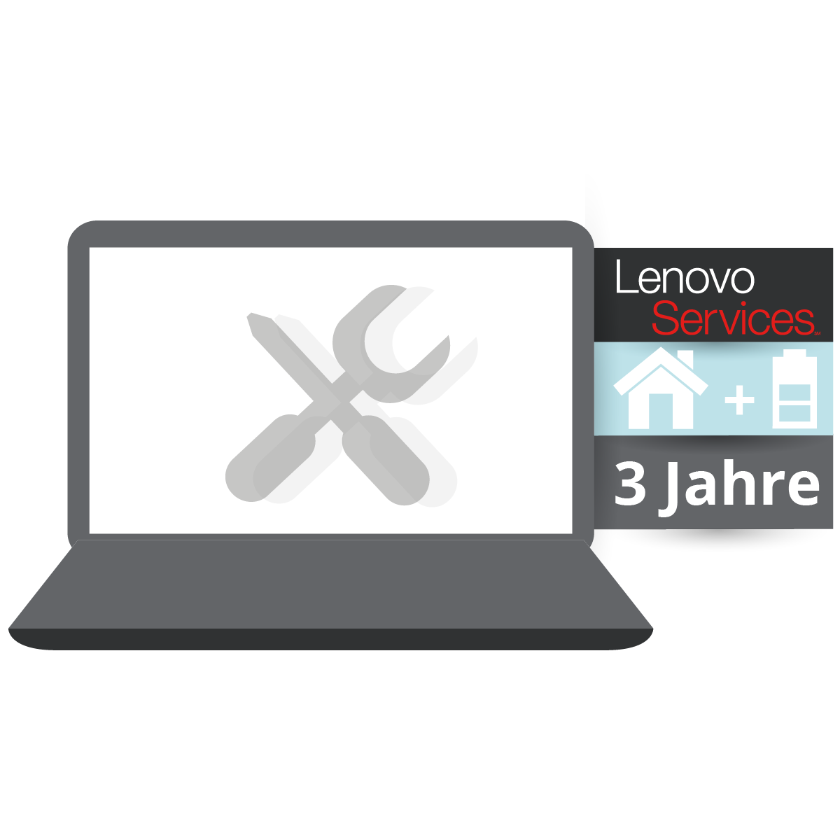 (EOL) Lenovo™ ThinkPlus® 3 Jahre Vor-Ort-Service (NBD) + Sealed Battery Replacement