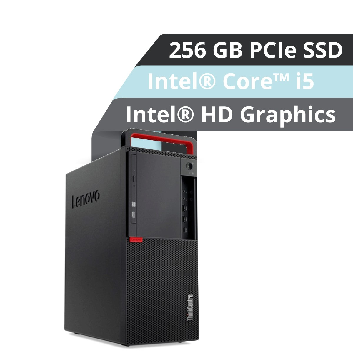 (EOL) Lenovo™ ThinkCentre® M910t Tower PC Modell 10MM-0004